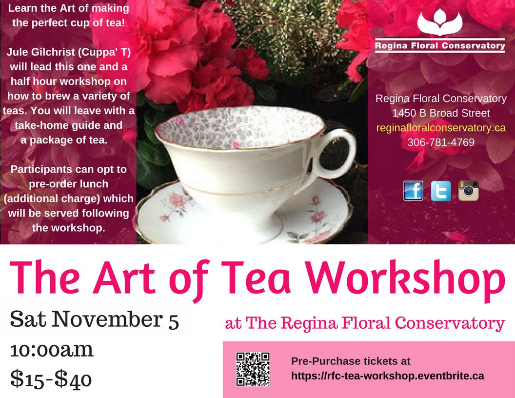 Art of Tea Workshop 1
